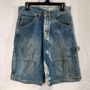 Vintage Guess Mens 29 Denim Shorts Distressed 565